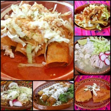 Buffet Comalada ó Buffet de Antojitos Mexicanos